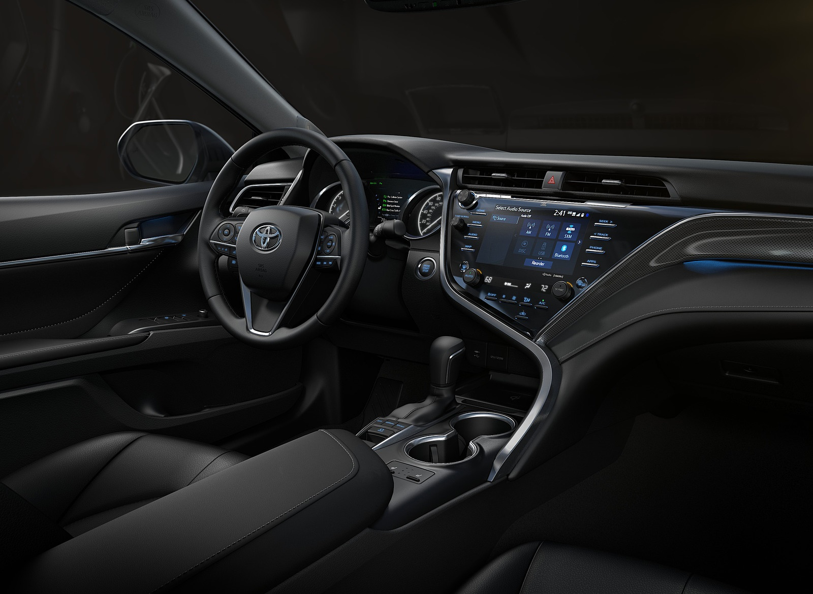 2018 Toyota Camry XSE Interior Wallpapers (13)