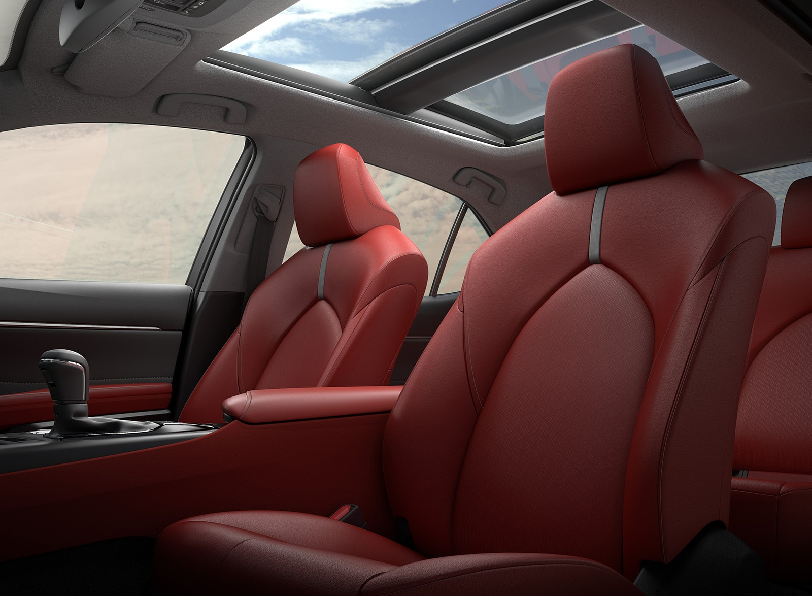 2018 Toyota Camry XSE Panoramic Roof Wallpapers (10)