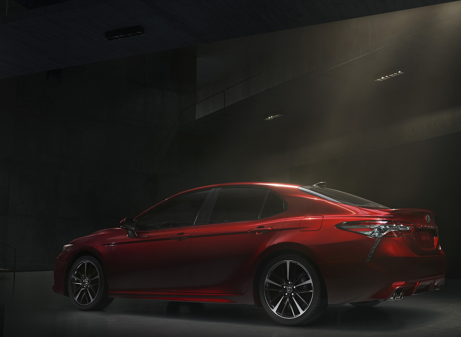 2018 Toyota Camry XSE Side Wallpapers (5)