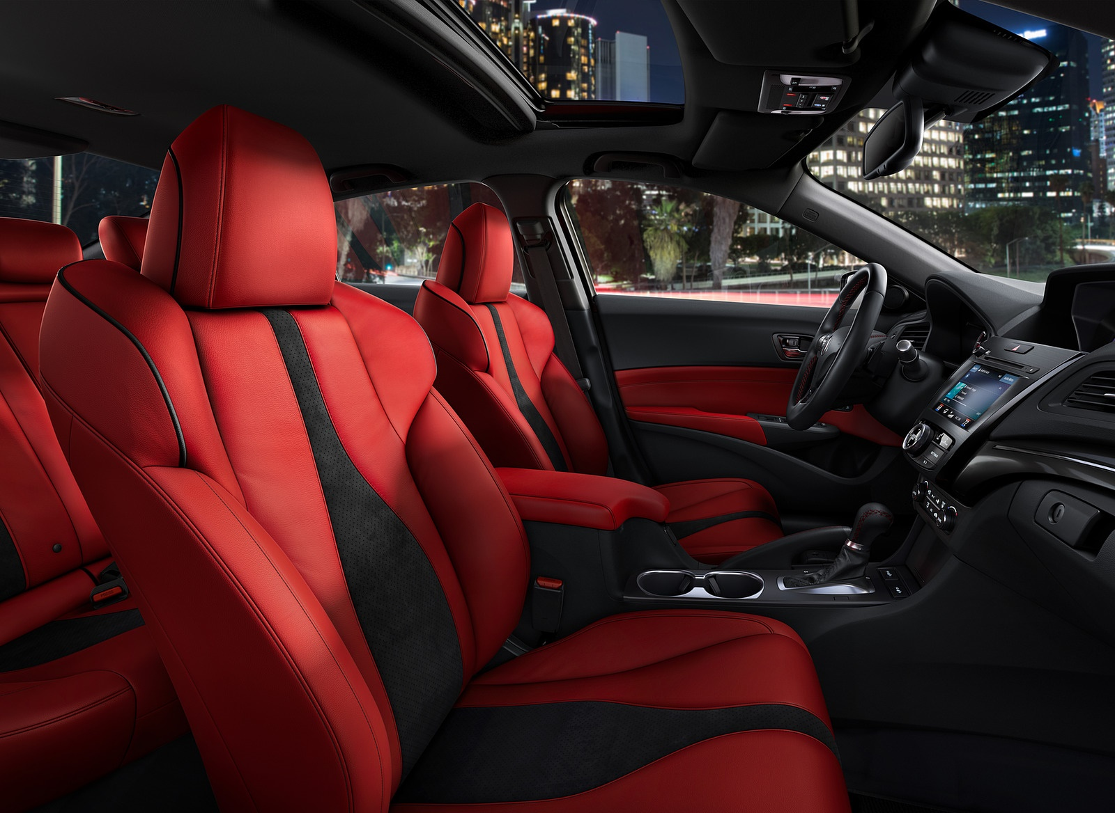 2019 Acura ILX Interior Seats Wallpapers (9)