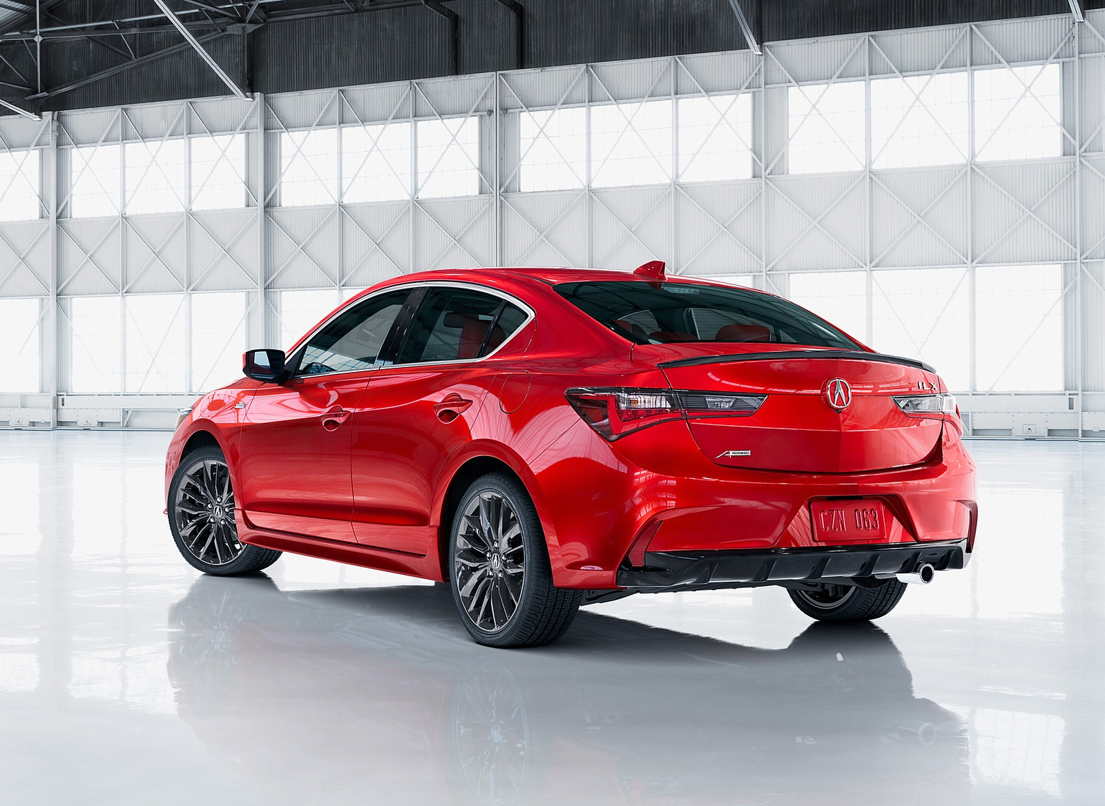 2019 Acura ILX Rear Three-Quarter Wallpapers (7)