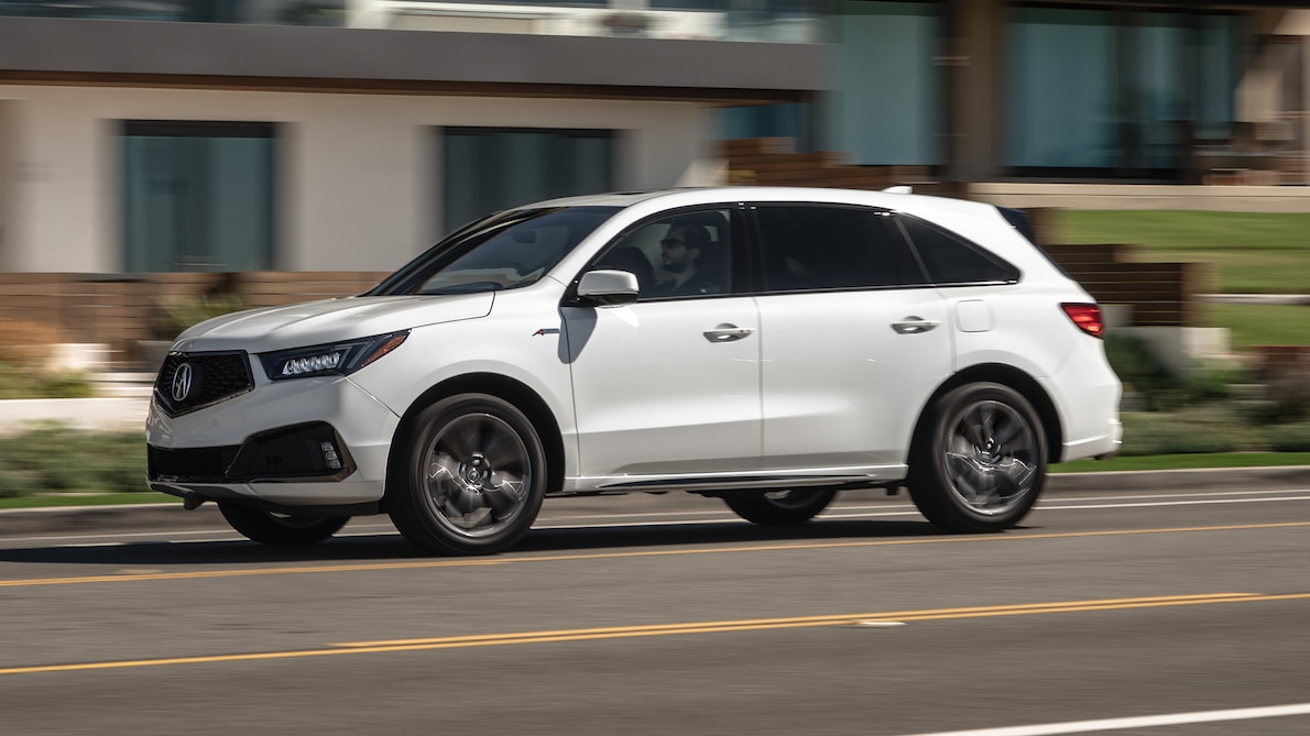 2019 Acura MDX A-Spec Front Three-Quarter Wallpaper (4)