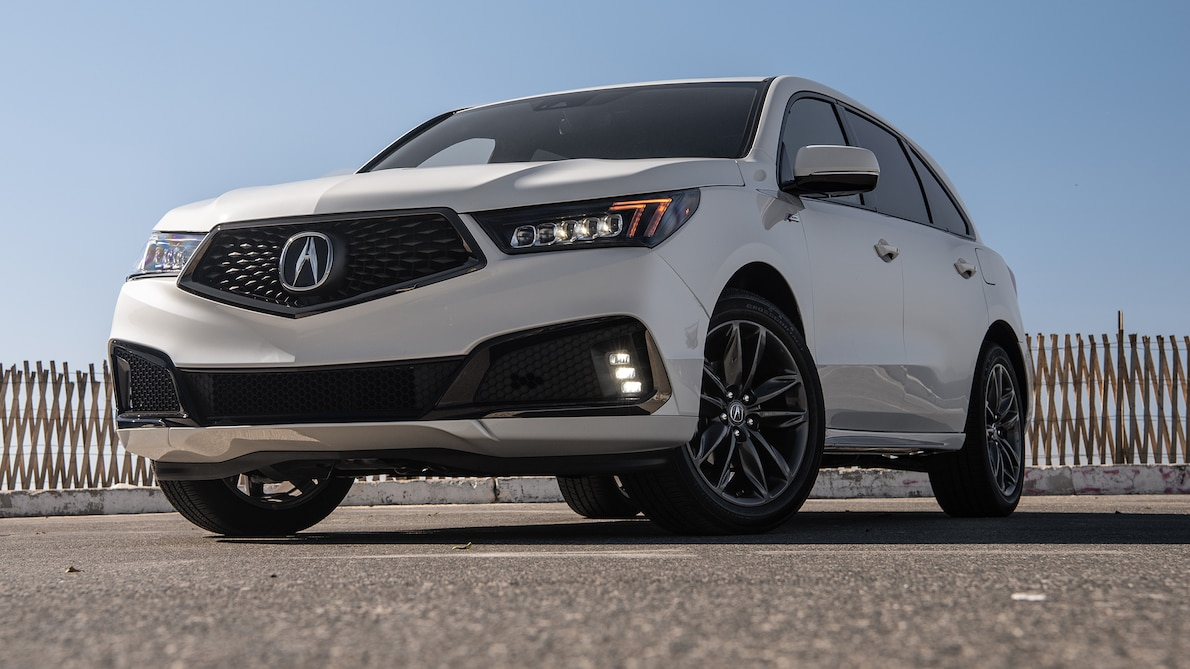 2019 Acura MDX A-Spec Front Three-Quarter Wallpaper (9)