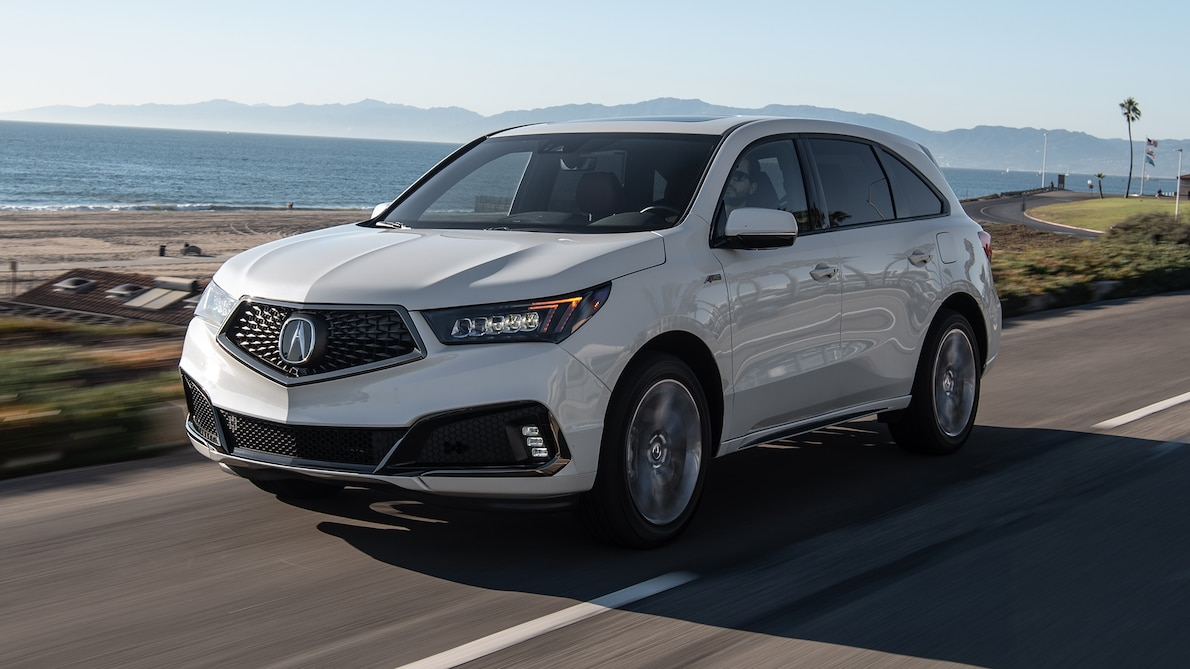 2019 Acura MDX A-Spec Front Three-Quarter Wallpaper (5)