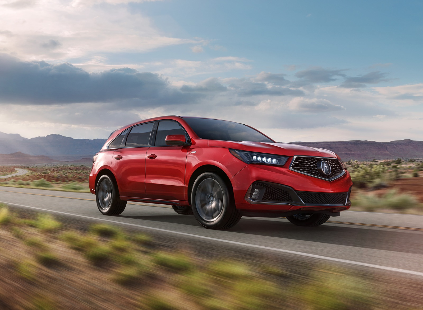 2019 Acura MDX A-Spec Front Three-Quarter Wallpaper (1)