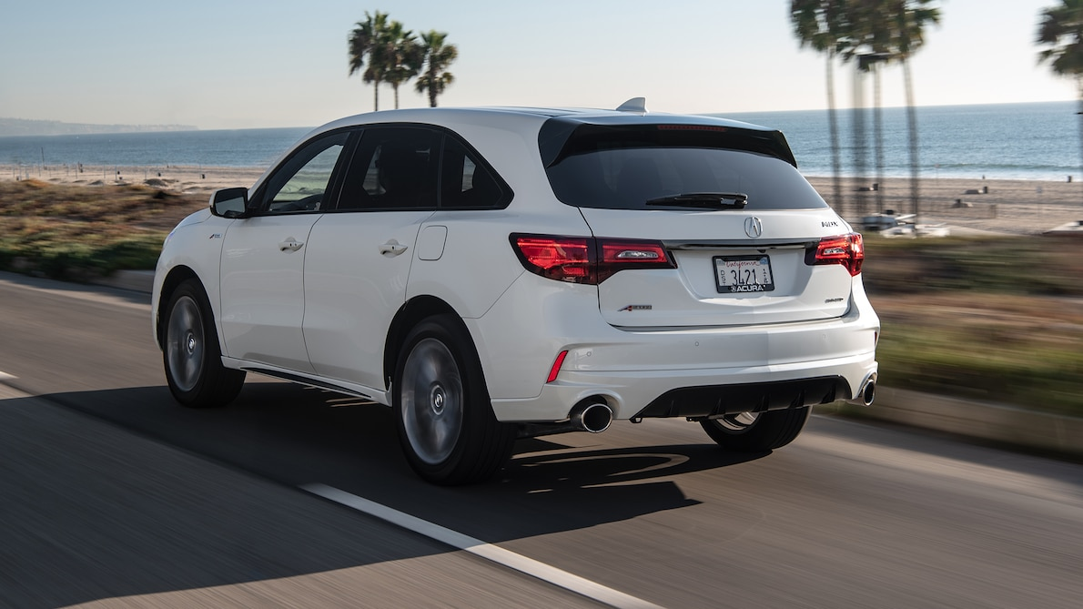 2019 Acura MDX A-Spec Rear Three-Quarter Wallpaper (7)