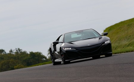 2019 Acura NSX (Color: Berlina Black) Front Wallpaper 450x275 (58)