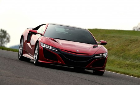2019 Acura NSX (Color: Curva Red) Front Wallpaper 450x275 (66)