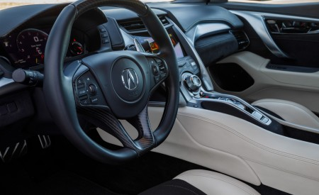 2019 Acura NSX (Color: Curva Red) Interior Cockpit Wallpaper 450x275 (13)