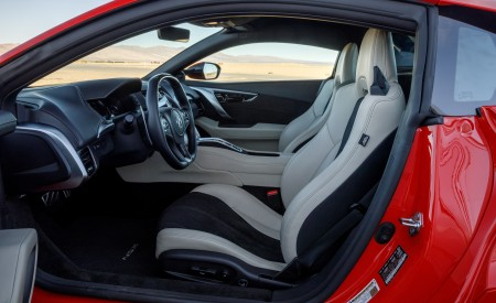 2019 Acura NSX (Color: Curva Red) Interior Wallpaper 450x275 (12)