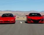 2019 Acura NSX (Color: Curva Red) and 1990 Acura NSX Front Wallpapers 150x120 (8)
