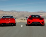 2019 Acura NSX (Color: Curva Red) and 1990 Acura NSX Rear Wallpapers 150x120 (9)