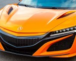2019 Acura NSX (Color: Thermal Orange Pearl) Front Bumper Wallpapers 150x120 (35)