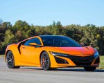 2019 Acura NSX (Color: Thermal Orange Pearl) Front Three-Quarter Wallpaper 150x120 (25)