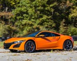 2019 Acura NSX (Color: Thermal Orange Pearl) Front Three-Quarter Wallpapers 150x120 (22)