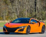 2019 Acura NSX (Color: Thermal Orange Pearl) Front Three-Quarter Wallpaper 150x120 (23)