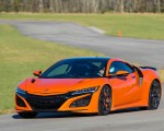 2019 Acura NSX (Color: Thermal Orange Pearl) Front Three-Quarter Wallpapers 150x120 (24)