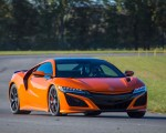 2019 Acura NSX (Color: Thermal Orange Pearl) Front Three-Quarter Wallpaper 150x120 (17)