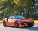 2019 Acura NSX (Color: Thermal Orange Pearl) Front Three-Quarter Wallpapers 150x120 (18)