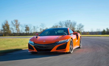 2019 Acura NSX (Color: Thermal Orange Pearl) Front Wallpaper 450x275 (19)