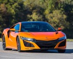 2019 Acura NSX (Color: Thermal Orange Pearl) Front Wallpapers 150x120 (27)