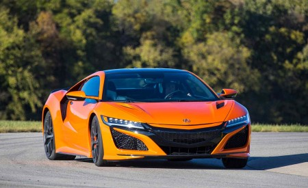 2019 Acura NSX (Color: Thermal Orange Pearl) Front Wallpaper 450x275 (27)