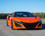 2019 Acura NSX (Color: Thermal Orange Pearl) Front Wallpapers 150x120 (20)