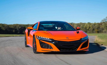 2019 Acura NSX (Color: Thermal Orange Pearl) Front Wallpaper 450x275 (20)