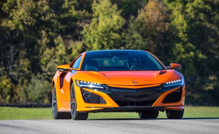 2019 Acura NSX (Color: Thermal Orange Pearl) Front Wallpaper 450x275 (30)
