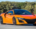 2019 Acura NSX (Color: Thermal Orange Pearl) Front Wallpapers 150x120 (29)