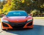 2019 Acura NSX (Color: Thermal Orange Pearl) Front Wallpapers 150x120 (21)