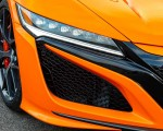 2019 Acura NSX (Color: Thermal Orange Pearl) Headlight Wallpaper 150x120 (36)