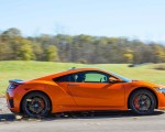 2019 Acura NSX (Color: Thermal Orange Pearl) Side Wallpapers 150x120 (32)