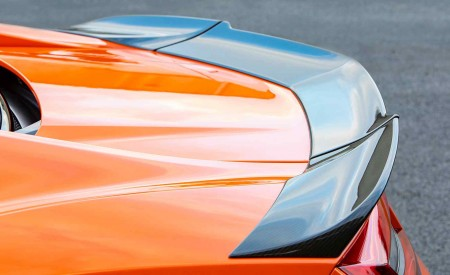 2019 Acura NSX (Color: Thermal Orange Pearl) Spoiler Wallpaper 450x275 (38)