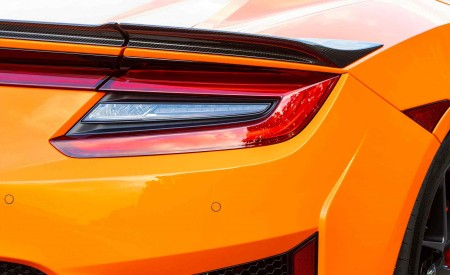 2019 Acura NSX (Color: Thermal Orange Pearl) Tail Light Wallpaper 450x275 (41)