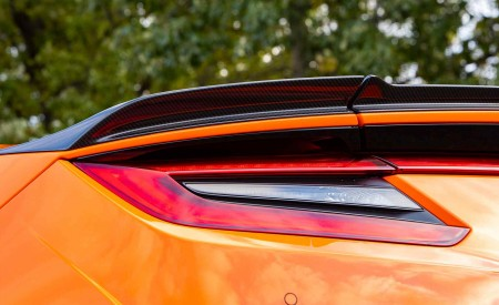 2019 Acura NSX (Color: Thermal Orange Pearl) Tail Light Wallpaper 450x275 (42)