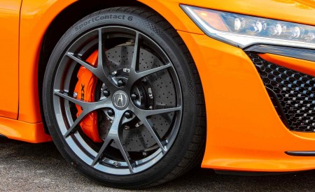 2019 Acura NSX (Color: Thermal Orange Pearl) Wheel Wallpaper 450x275 (43)