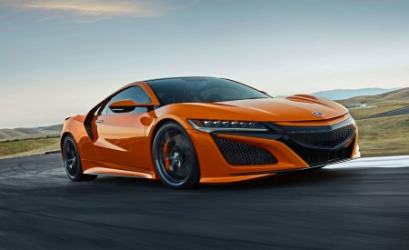 2019 Acura NSX Front Three-Quarter Wallpaper 450x275 (78)