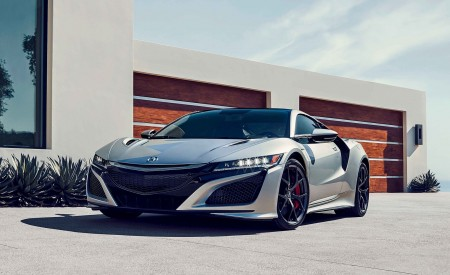 2019 Acura NSX Front Three-Quarter Wallpaper 450x275 (109)