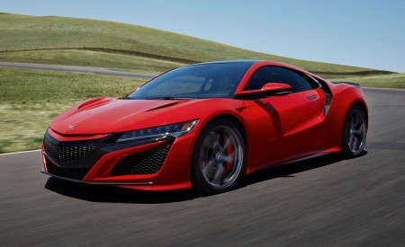 2019 Acura NSX Front Three-Quarter Wallpaper 450x275 (74)
