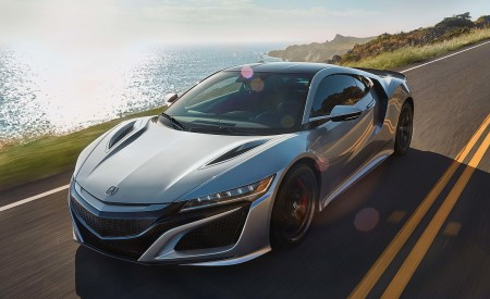 2019 Acura NSX Front Three-Quarter Wallpaper 450x275 (82)