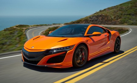2019 Acura NSX Front Three-Quarter Wallpaper 450x275 (77)