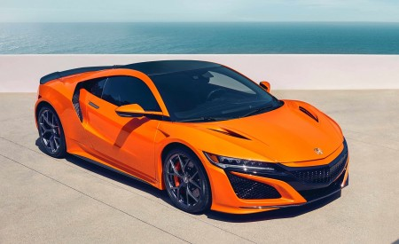 2019 Acura NSX Front Three-Quarter Wallpaper 450x275 (84)