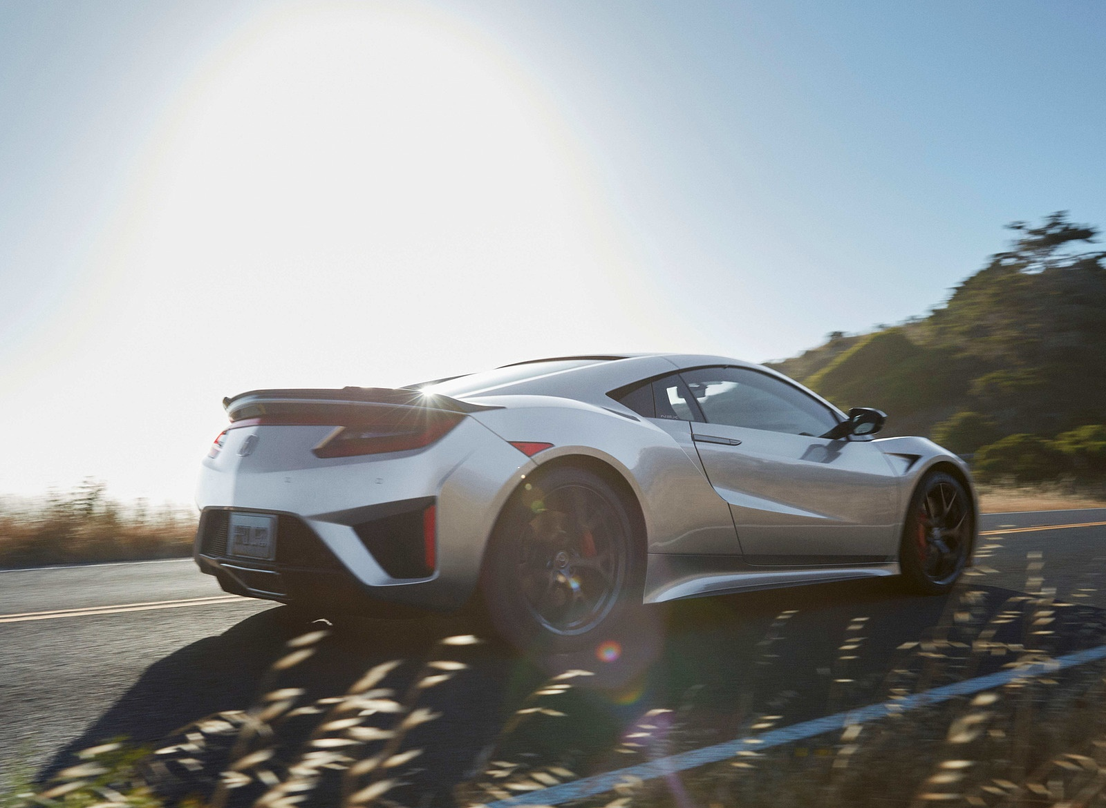 2019 Acura Nsx Rear Three Quarter Wallpaper 40 Newcarcars