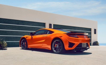 2019 Acura NSX Rear Three-Quarter Wallpaper 450x275 (87)