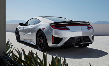 2019 Acura NSX Rear Three-Quarter Wallpaper 450x275 (112)