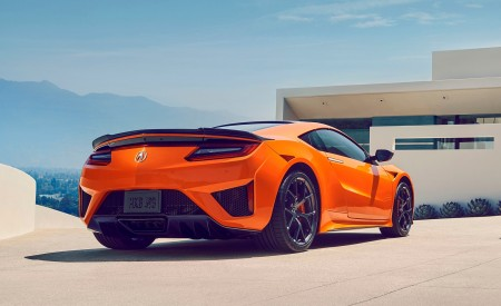 2019 Acura NSX Rear Three-Quarter Wallpaper 450x275 (89)