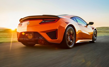 2019 Acura NSX Rear Three-Quarter Wallpaper 450x275 (80)