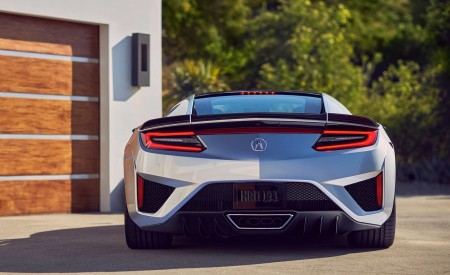 2019 Acura NSX Rear Wallpaper 450x275 (93)