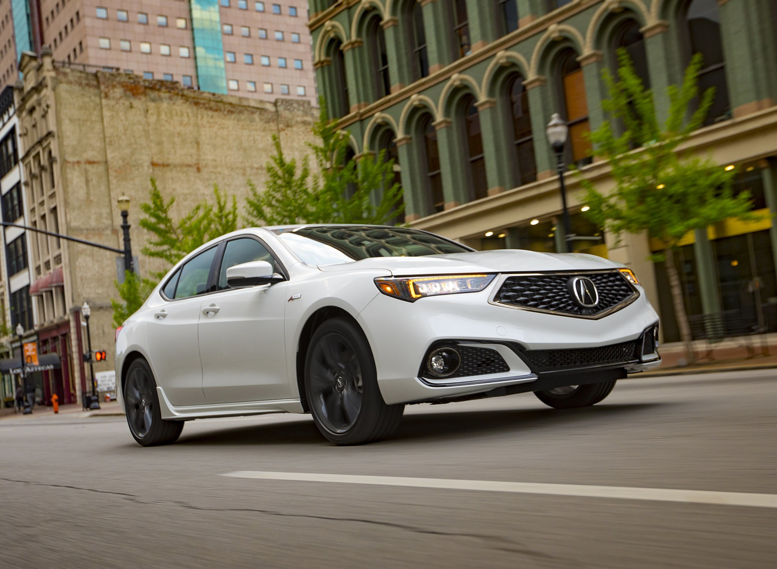 2019 Acura TLX A-Spec SH-AWD Front Three-Quarter Wallpapers (10)